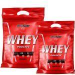 Kit Nutri Whey Protein - Morango 1800g Refil + Nutri Whey Chocolate  907g Refil - Integralmédica no Atacado