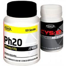 Kit Ph20 + CYS:10 - 100 c�psulas - Power Supplements
