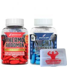Kit Emagrecedor Abdomen - Dia E Noite - 120 Capsulas Body Action