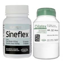 Kit - Sineflex 150 Caps + Dilatex - 152 Caps - Power Supplements