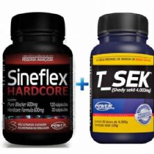 Kit - Sineflex Hardcore 150 Caps + T_Sek 120g - Power Supplements