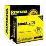 Kit Somapro - 60 Cápsulas + Kimera Thermo - 60 comprimidos - Iridium Labs