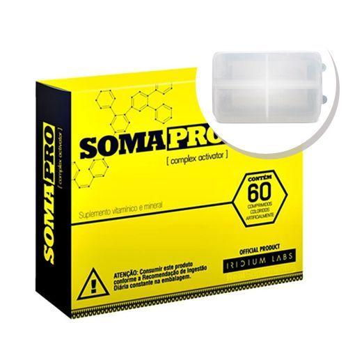 Kit Somapro - 60 Cápsulas + Porta cápsulas - Iridium Labs