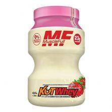 Kut Whey - 900g Leite Fermentado com Morango - MuscleFull