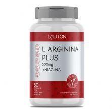 L-Arginina Plus - 60 Cápsulas - Lauton Nutrition