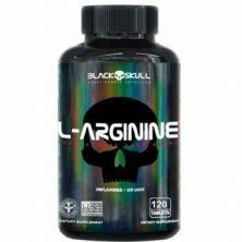 L-Arginine - 120 Tablets - Black Skull