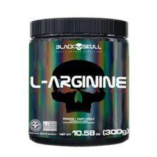 L-Arginine - 300g Laranja - Black Skull