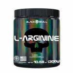 L-Arginine - 300g Limão - Black Skull