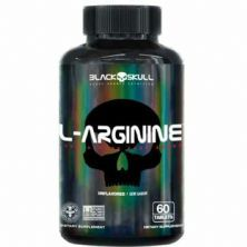 L-Arginine - 60 Tablets - Black Skull