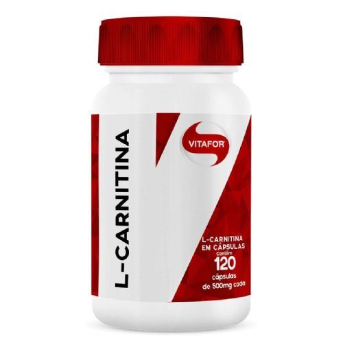 L-Carnitina - 120 Cápsulas - Vitafor no Atacado