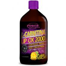 L-Carnitina 2000 - 480ml Abacaxi - Power Supplements