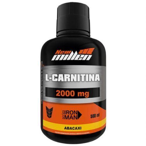 L-Carnitina 2000mg - 500ml Abacaxi - New millen no Atacado