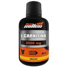 L-Carnitina 2000mg - 500ml Abacaxi - New millen