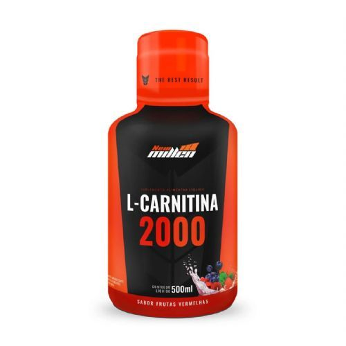 L-Carnitina 2000mg - 500ml Frutas Vermelhas - New millen no Atacado