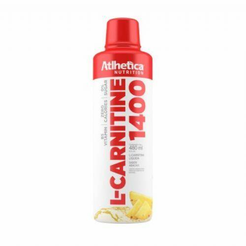 L-Carnitine 1400 - 480ml Abacaxi - Atlhetica Nutrition no Atacado