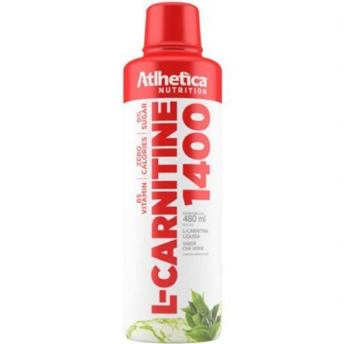 L-Carnitine 1400 - 480ml Chá Verde - Atlhetica Nutrition no Atacado
