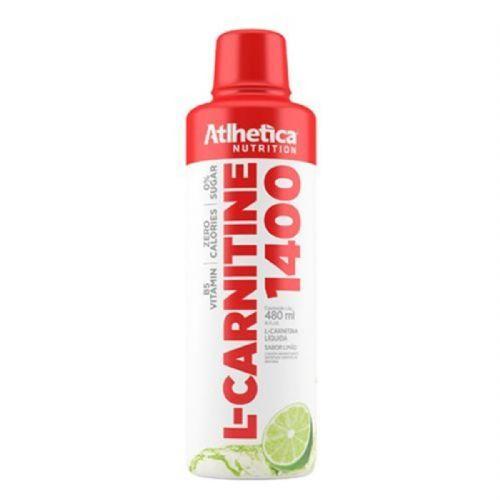 L-Carnitine 1400 - 480ml Limão - Atlhetica Nutrition no Atacado