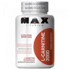 L-Carnitine 2000 - 120 Cápsulas - Max Titanium