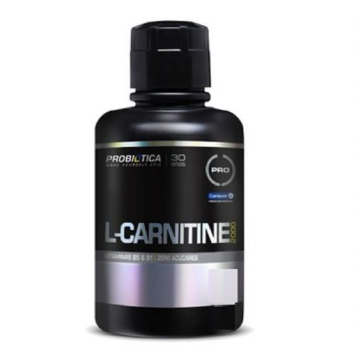 L-Carnitine 2000 - 400ml Morango - Probiotica no Atacado