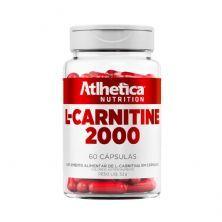 L-Carnitine 2000 - 60 Cápsulas - Atlhetica Nutrition