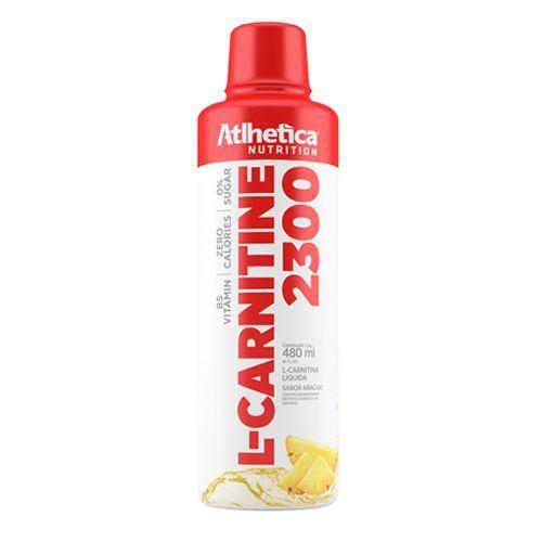 L-carnitine 2300 - 480ml Abacaxi - Atlhetica Nutrition no Atacado