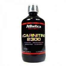 L-carnitine 2300 - 480ml Limão - Atlhetica Nutrition