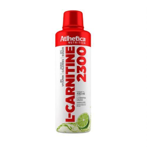 L-carnitine 2300 - 480ml Limão - Atlhetica Nutrition no Atacado