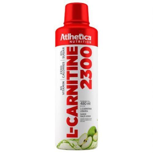L-carnitine 2300 - 480ml Maçã Verde - Atlhetica Nutrition no Atacado