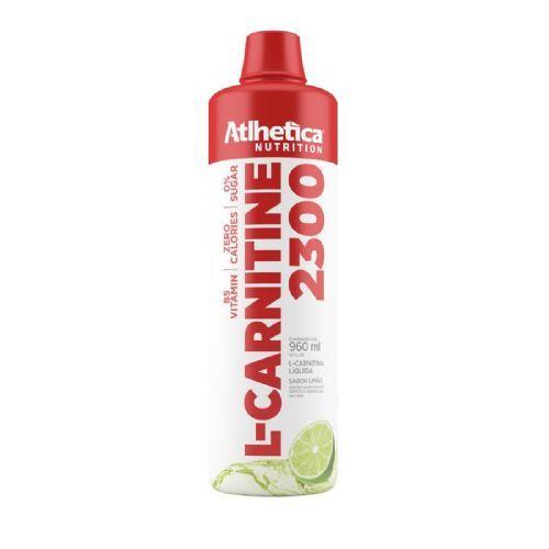L-Carnitine 2300 - 960ml Limão - Atlhetica Nutrition no Atacado