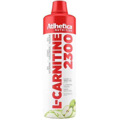 L-Carnitine 2300 - 960ml Maçã Verde - Atlhetica Nutrition no Atacado