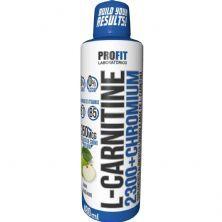 L-Carnitine 2300+Chromium - 480ml Maçã Verde - ProFit