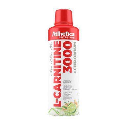 L-Carnitine 3000 - 480ml Limão, Chá Verde e Gengibre - Atlhetica Nutrition no Atacado