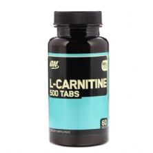 L-Carnitine 500MG - 60 Tablets - Optimum Nutrition