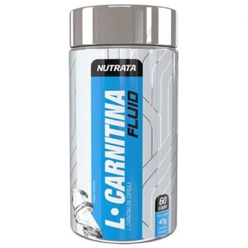 L-Carnitine Fluid - 60 Cápsulas - Nutrata no Atacado