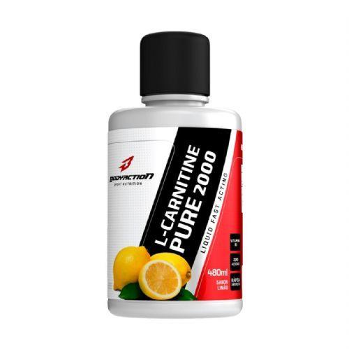 L-Carnitine Pure 2000 - 480 ml Limão - BodyAction no Atacado