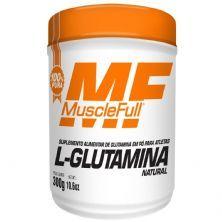 L-Glutamina - 300g Natural - MuscleFull
