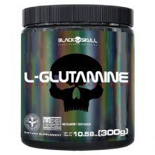 L-Glutamine - 300g Sem Sabor - BlackSkull*** Data Venc. 30/08/2021