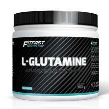 L - Glutamine - 300g Sem Sabor - Fitfast Nutrition
