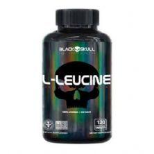 L-Leucine - 120 Tablets - Black Skull