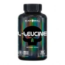 L-Leucine - 60 Tablets - Black Skull