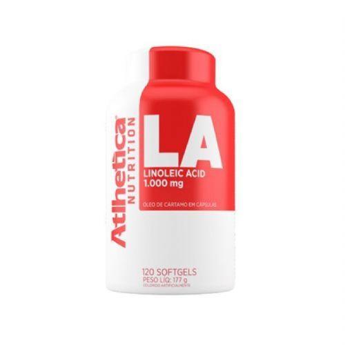 La Linoleic Acid - 120 Cápsulas Softgels 1000mg - Atlhetica Nutrition no Atacado