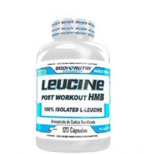 Leucine - 120 Cápsulas - Body Nutry