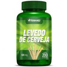 Levedo de Cerveja  - 200 Comprimidos - Herbamed