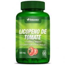 Licopeno de Tomate + Vitaminas E Minerais - 60 Cápsulas - Herbamed