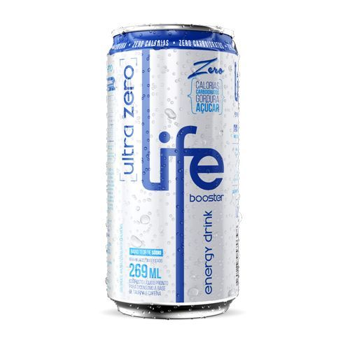 Life Booster Energy Drink Ultra Zero - Life Booster - 269ml