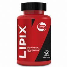 Lipix Óleo de Cártamo - 120 Cápsulas - Vitafor
