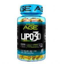 Lipo 3D - 60 Cápsulas - Nutrilatina