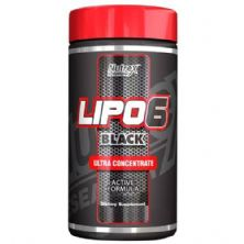 Lipo 6 Black Powder  Brazil - Blue Rasp 120g - Nutrex