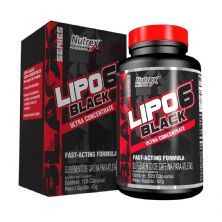 Lipo 6 Black Ultra Concentrado - 120 caps - Nutrex