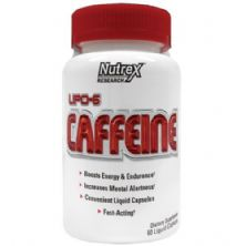 Lipo 6 Caffeine - 60 Capsulas - Nutrex